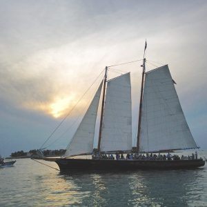 Schooner sunset cruise
