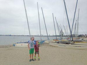 Pacific Beach, San Diego sailboats