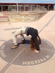 At the Four Corners monument, you can be in four states at the same time