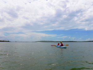Kayaking in Marco Island, Florida, makes for a fun weekend for families