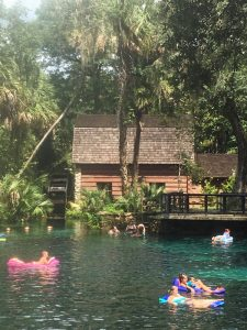 Juniper Springs is a popular swimmin' hole in Ocala National Forest