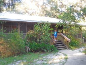 Silver Springs State Park cabins are the perfect mix of rustic and modern.