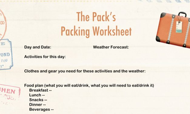 Family travel packing list free download