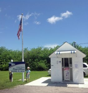 The smallest post office in the USA is also on a scenic drive in Florida
