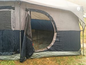 Weekend family camping FAIL with our non-water-resistant tent