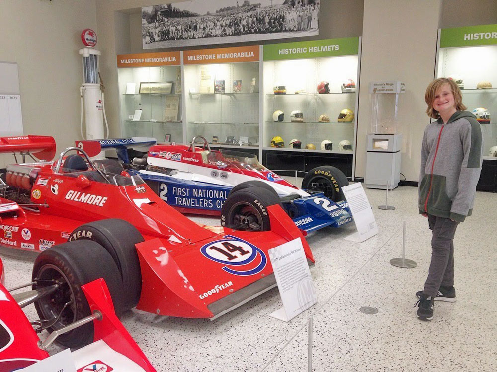Spring break family road trip: Indianapolis Motor Speedway
