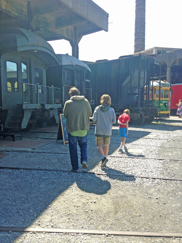 Spring break family road trip: Georgia State Railroad Museum