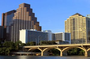 Austin's Congress Avenue Bridge is where to see bats at sunset when they are in season