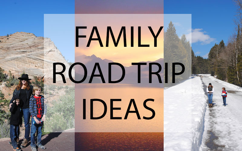 Family road trip ideas