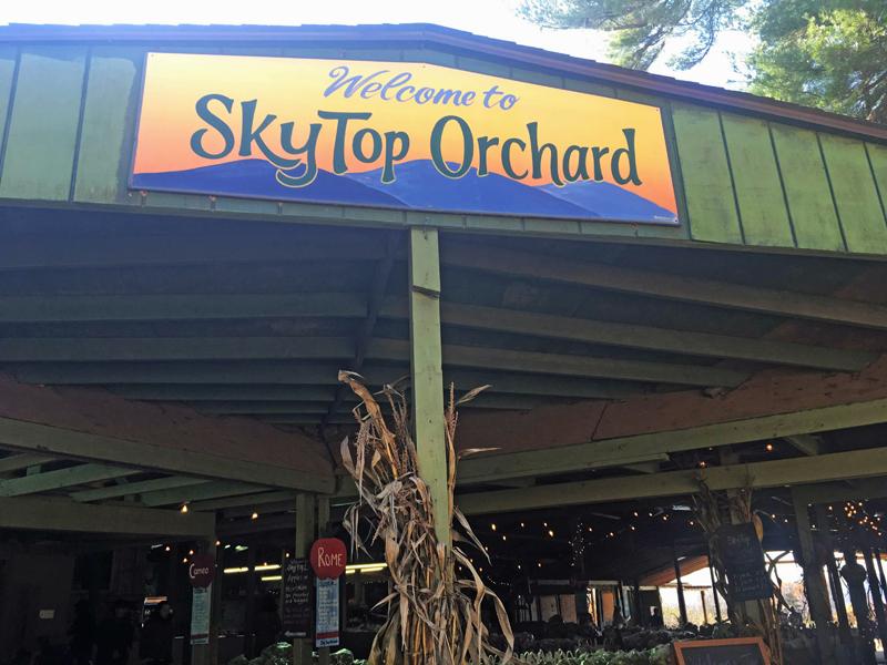 Skytop Orchard in North Carolina