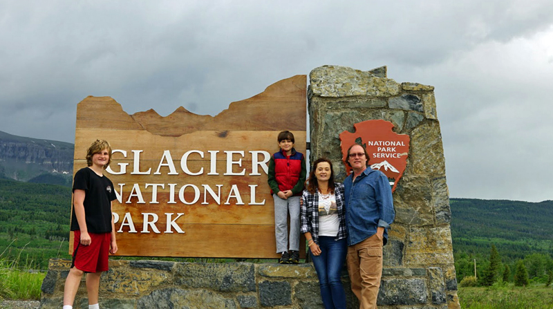 Tips for taking a Glacier National Park family trip