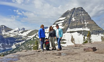 Glacier National Park family trip