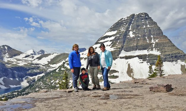 Glacier National Park family trip